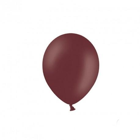 100 petits ballons chocolat 12 cm