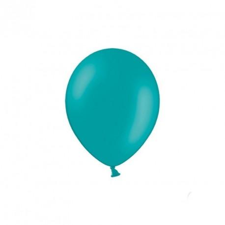 100 petits ballons turquoise 12 cm
