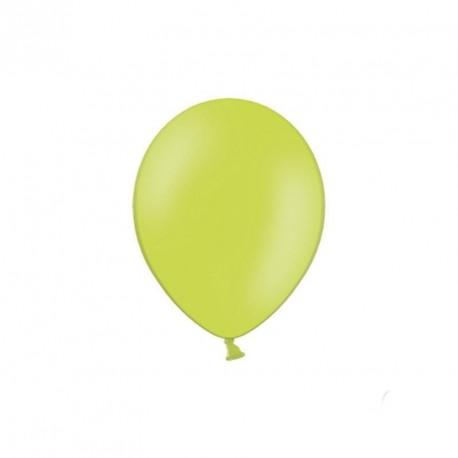100 petits ballons vert anis 12 cm
