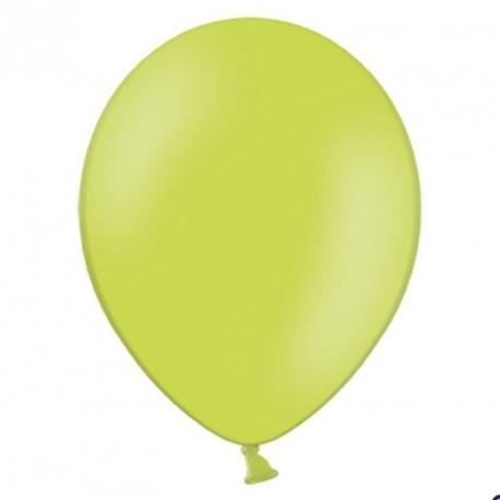 100 Ballons de baudruche vert 27 cm