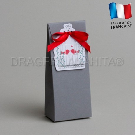 emballage à dragées theme colombe
