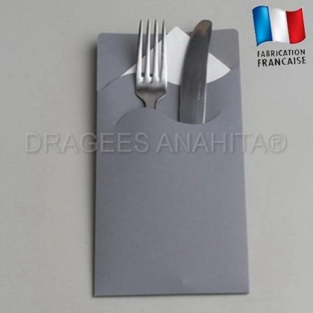 pochette couvert grise