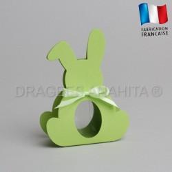 Dragées bapteme lapin vert