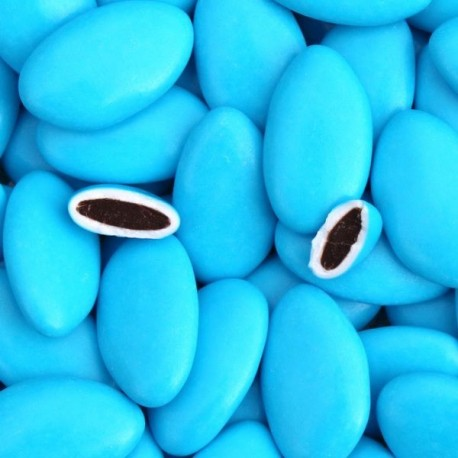 Dragées chocolat Turquoise 1 Kg