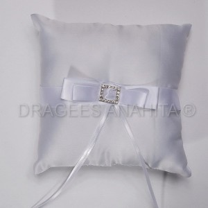 coussin porte alliance strass #6