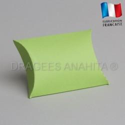 Pochette pour dragées vert