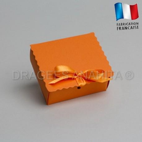 Ecrin à dragées orange