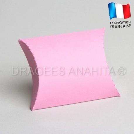 Pochette pour dragées rose