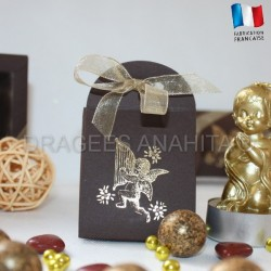 Contenant dragées Ange chocolat