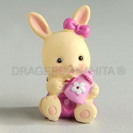 Petit lapin en céramique