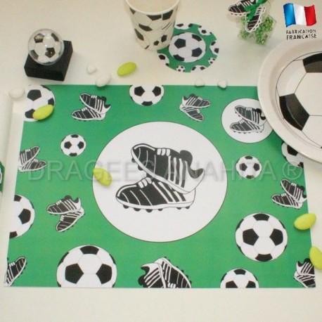 Set de table thème Football