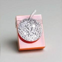 Pochette à dragées Disco Orange