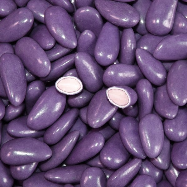 Dragées amande violette 43% amande