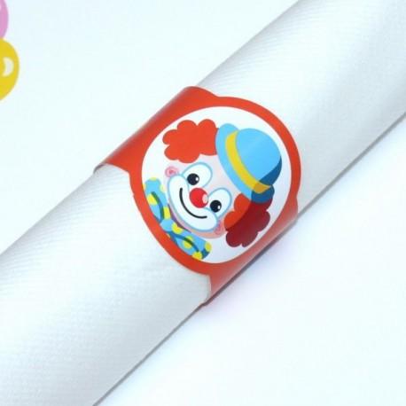 Rond de serviette Clown