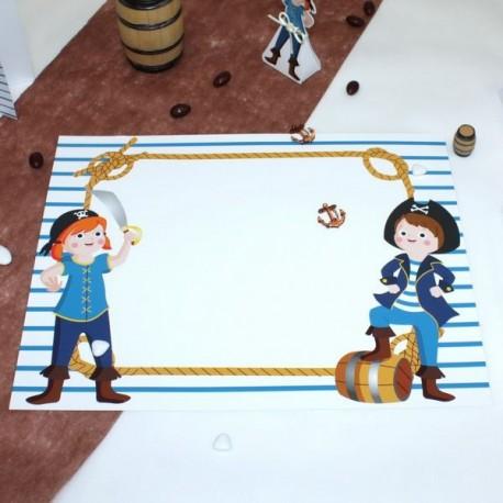 Set de table Pirate ado