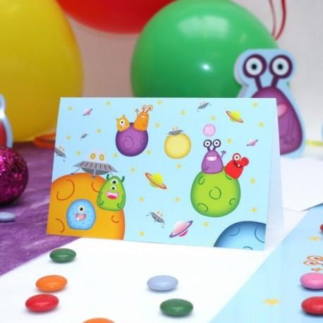 Carte Invitation Petit monstre
