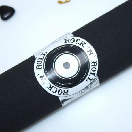 Rond de serviette Rock n Roll
