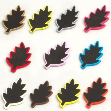 12 ardoises feuilles autocollantes