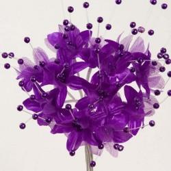 Fleur Perle Violet