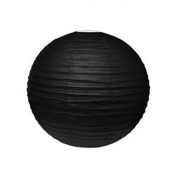 Lampion Noir 25 cm