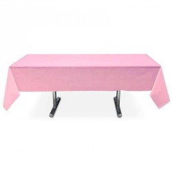 Nappe rose rectangle pas cher intissé 3 m x 1.5 m