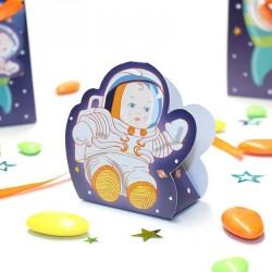 Contenant à dragées petit cosmonaute