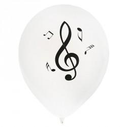 8 Ballons gonflables musique