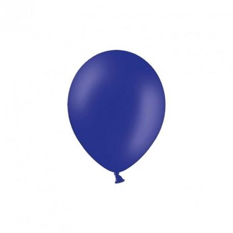 100 petits ballons bleu marine 12 cm