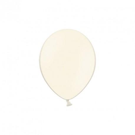 100 petits ballons ivoire 12 cm