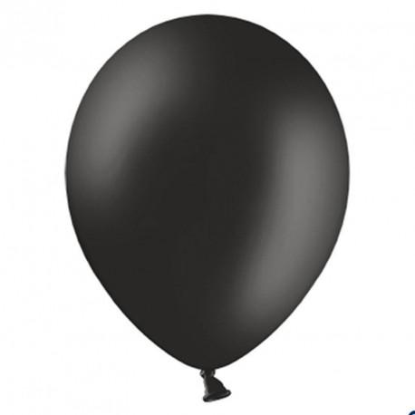 100 Ballons de baudruche noir 27 cm