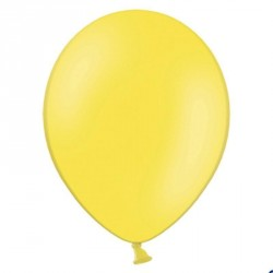 100 Ballons de baudruche jaune 27 cm