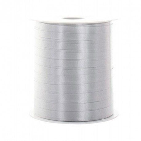 Bolduc gris brillant 100m x 5mm