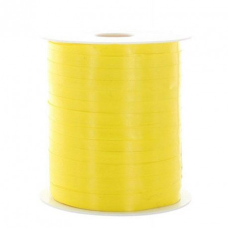 Bolduc jaune brillant 100m x 5mm