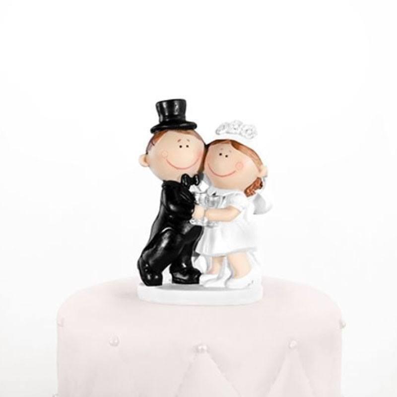 figurine de mariage pas cher couple heureux drag es anahita. Black Bedroom Furniture Sets. Home Design Ideas