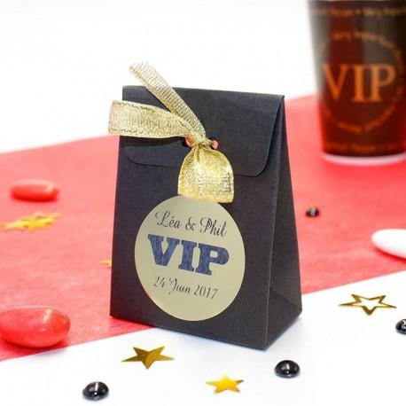 Contenant à dragées VIP personnalisable