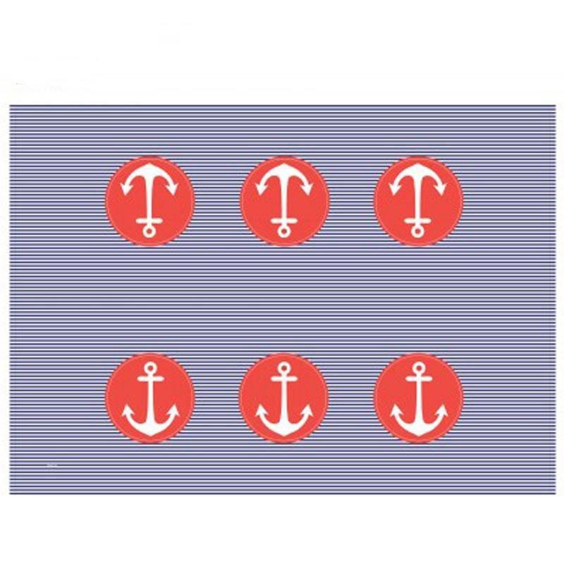Nappe plastique thème marin - Dragées Anahita