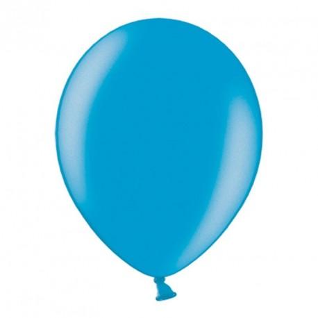 10 ballons blancs métalisés