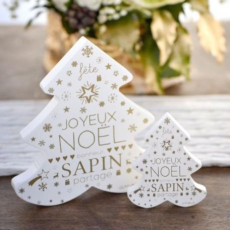 2 Sapins pour décoration de Noël
