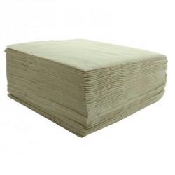 40 serviettes jetables couleur naturelle, pratiques et très résitantes.