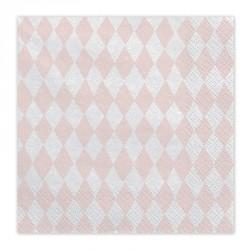 20 Serviettes papier thème Licorne : élégantes,  larges et résistantes.