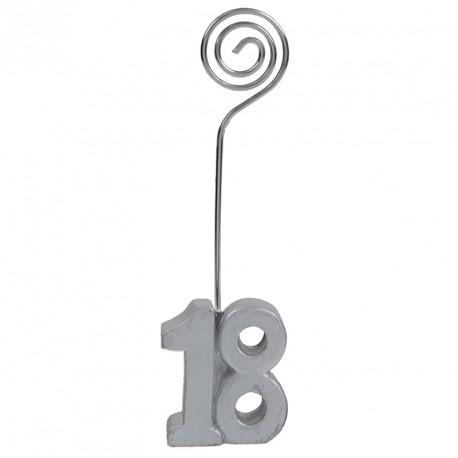 2 Marque-place Anniversaire 18 ans pour parfaire votre décoration et votre plan de table