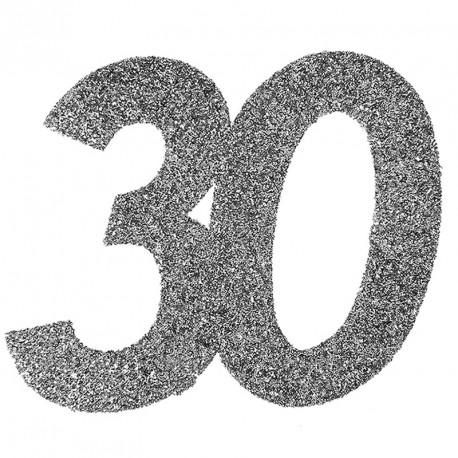 Confetti pailleté Anniversaire 30 ans pour décorer joliment vos tables.