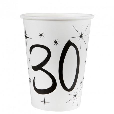 10 Gobelets Anniversaire 30 ans pratiques et utiles.