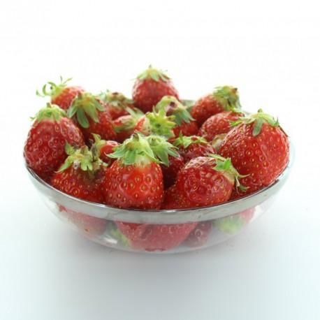 4 petits saladiers bord argenté pour servir salades, fruits et dessert.