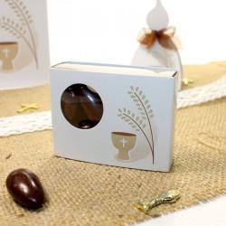 2 Boîtes à dragées Calice épi au design très original.