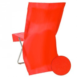 Housse de chaise jetable Rouge Opaque