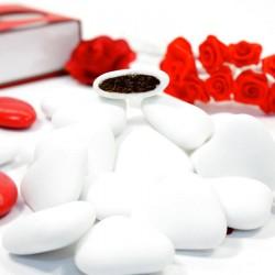 Dragées coeur au chocolat 1kg