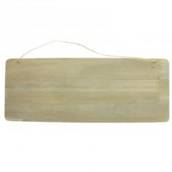 Pancarte en bois avec Craie. En bois véritable travaillé. Réutilisable à souhait.