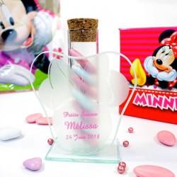 12 Eprouvettes à dragées Minnie