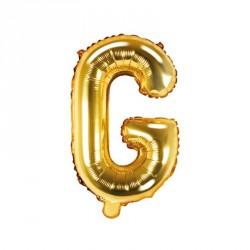 Ballon Lettre G Or 35cm
